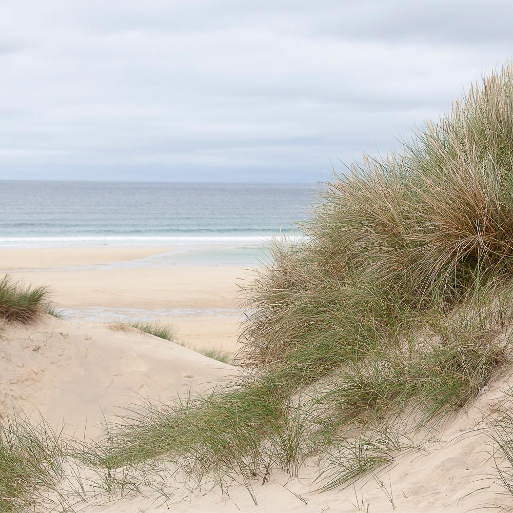 Beach cloudy day_