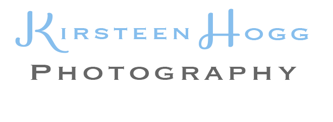 Kirsteen Hogg Photography Logo in blue